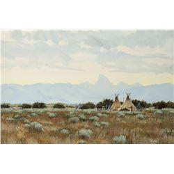 Russell Ricks | Gros Ventre Encampment