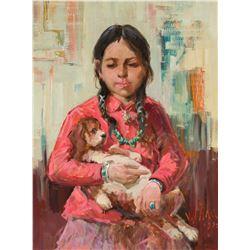 Vladan Stiha | Girl with Dog