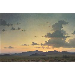 Michael Stack | Day Ends on a Desert Land
