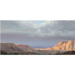 Bill Hughes   Sunlit Cliffs