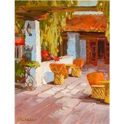 Mimi Litschauer   Courtyard Siesta