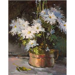 Mimi Litschauer   White Flowers