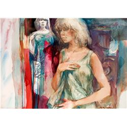Robert E. Wood   Jenny and Mirror