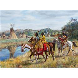 Hubert Wackermann   Returning Scouts - Arapaho