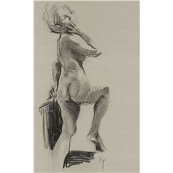 Ned Jacobs   Standing Nude