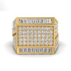 3 ctw VS/SI Diamond Men's Ring 14k Yellow Gold