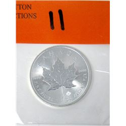 1 Oz .9999 Fine Silver 2017 Canada Maple Leaf Coin