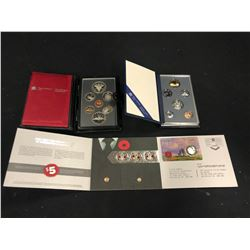 ASSORTED CANADIAN COMMEMORATIVE COIN SETS INC. REMEMBRANCE DAY SET, AND MORE