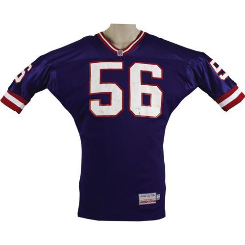 timeless design 26880 03922 1993 Lawrence Taylor Game Worn Giants Jersey