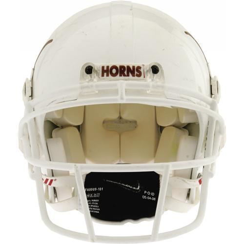 fa973ce759a Image 1   2004 Vince Young Game Worn U. of Texas Helmet ...
