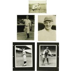 Circa 1920 New York Yankees Photographs Lot of 6