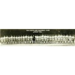 1923 Cleveland Indians Team Panoramic Photograph