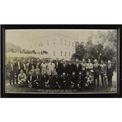1924 Washington Senators Huge Team Photograph