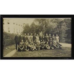 1925 Washington Senators Huge Team Photograph