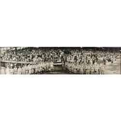 1925 Walter Johnson Day Panoramic Photograph