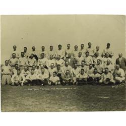 Late 1920's New York Yankees Team Photograph