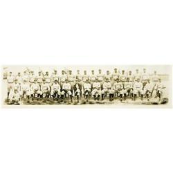 1928 New York Yankees Panoramic Photograph