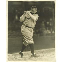 Early 1930's Babe Ruth Photograph by Burke