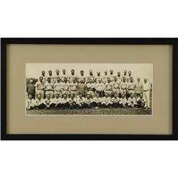 1933 New York Yankees Panoramic Photograph
