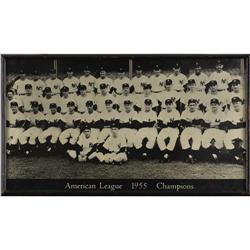 1955 New York Yankees Tremendous Photograph