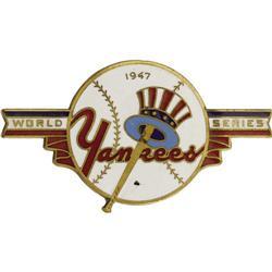 1947 World Series (New York Yankees) Press Pin
