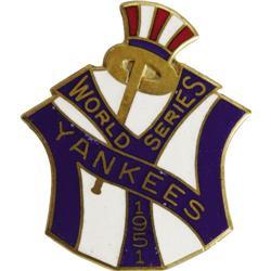 1951 World Series (New York Yankees) Press Pin