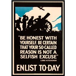 British World War I Poster