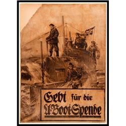 Willy STOWER (1864-1931) World War I Poster