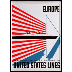 SS United States Lines 1950/60's