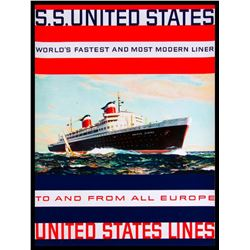 SS United States Lines 1950/60's.