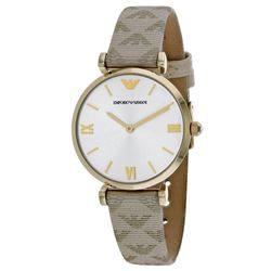 NEW EMPORIO ARMANI DRESS WATCH MSRP $373.53