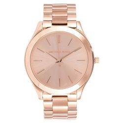 NEW MICHAEL KORS GOLD TONE WATCH.MSRP $279