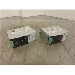 (2) Allen Bradley 4983-DC Surge/Filter
