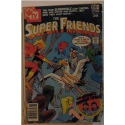 VERY OLD Used DC Comics Super Friends #14 Nov 1978 44 pages - bande dessinée très vieille usagée