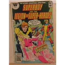 Used very old Whitman Comics Superboy& Legion Volume 31 #258 Dec 1979 - bande dessinée usagée vieill