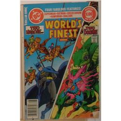VERY OLD DC Comics Two Heroes Worlds Finest Vol 42 #282 Aug 1982 40page -bande dessinée très vieille