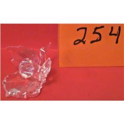 GLASS CRYSTAL SWAN - SWAROVSKI FIGURINE
