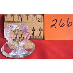 CRYSTAL HEART (MADE IN WEST GERMANY)