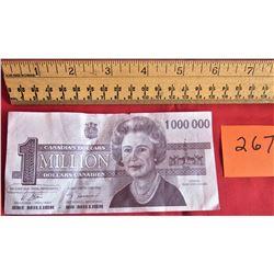 1-1,000,000.00 - MILLION DOLLAR BILL