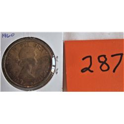 CANADA DOLLAR COIN - 1960