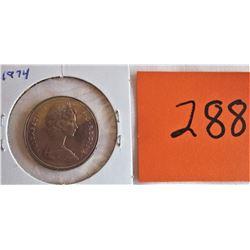 CANADA 1974 .50 CENT / 1947 .25 CENT / 1942 .05 CENT
