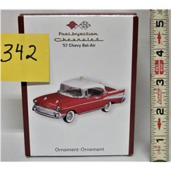 HEIRLOOM ORNAMENT COLLECTION '57 CHEV BELAIR FUEL INJECTION CHEVROLET