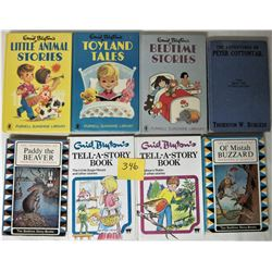 3X 1970'S ENID BLYTON'S CHILDRENS h/c BOOKS, LOT 8 2-1983 ENID BLYTON'S h/c TELL A STORY, 1943 ADVEN