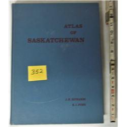 h/c 1969 ATLAS OF SAKSATCHEWAN