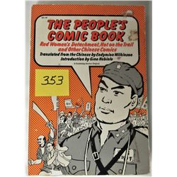 1973 s/c THE PEOPLE'S COMIC BOOK - CHINESE COMICS
