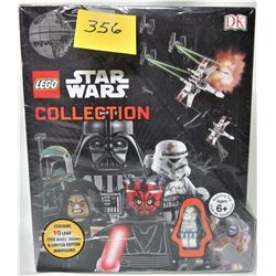 SET 10 NEW SEALED 2010 STAR WARS COLLECTION h/c LEGO BOOKS