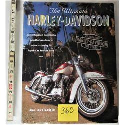 2002 h/c ULTIMATE HARLEY DAVIDSON ENCYCLOPEDIA - CELEBRATING DUST 100 YEARS JACKET