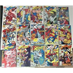 LOT 15 NEW BAGGED + BOARDED X-FORCE COLLECTOR COMICS