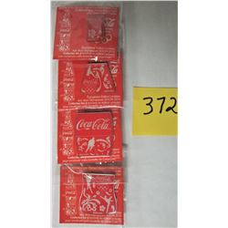 4 PIECE SET NEW 2014 SOCHI OLYMPIC GAMES COCA-COLA BOTTLE PINS