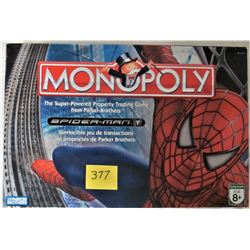 2006 SPIDERMAN MONOPOLY BOARD GAME - 6 PEWTER GAME TOKENS